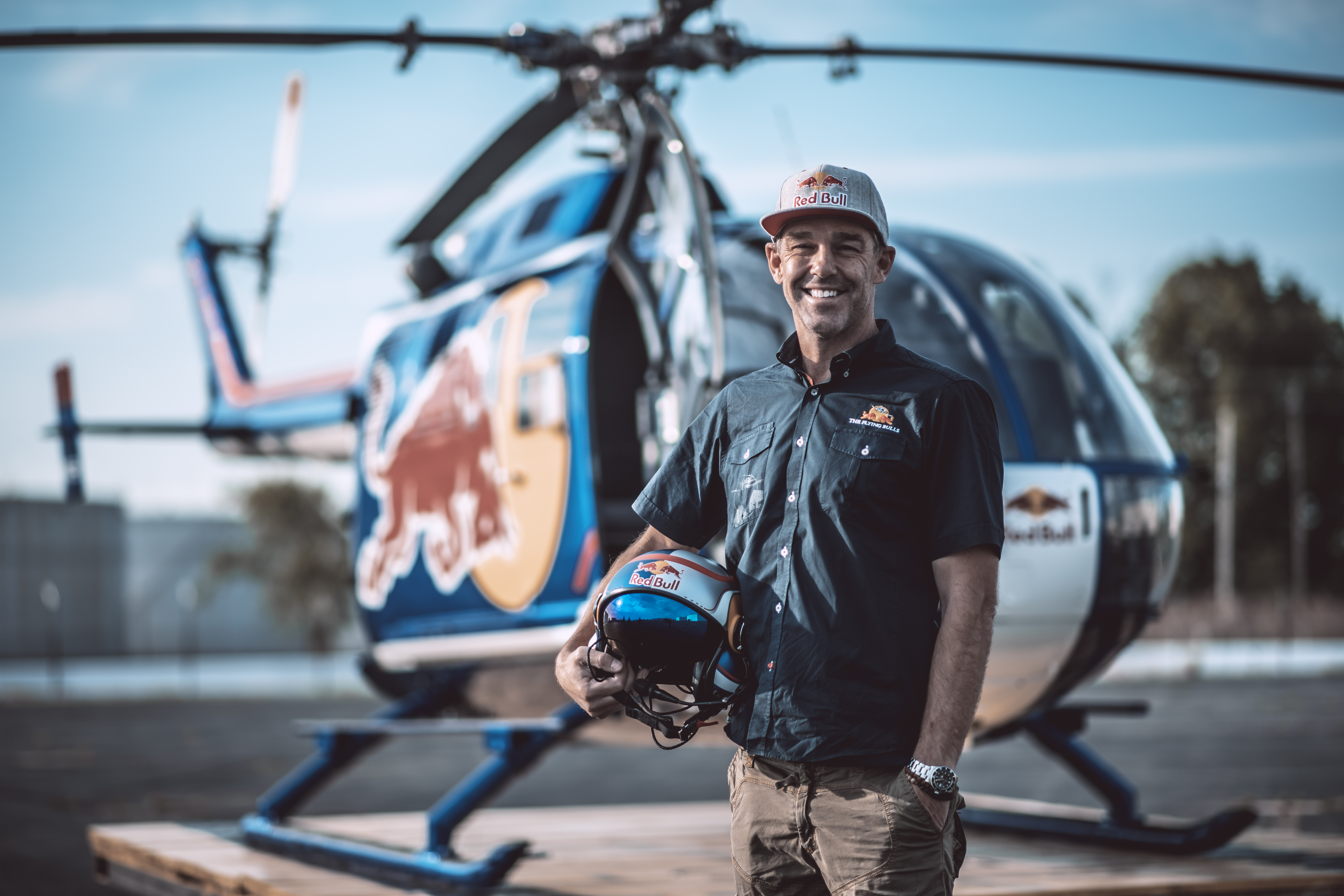 EP 98: Aaron Fitzgerald - Red Bull Helicopter Pilot & Owner of Airborne Images
