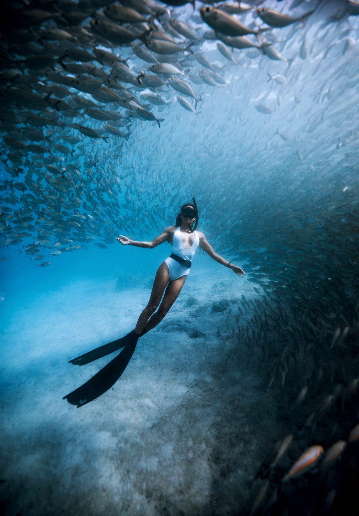 EP 100: Chelsea Yamase - Freediver, acrobat, & world traveling creative