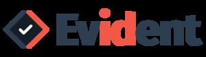 Evident logo fullcolor red